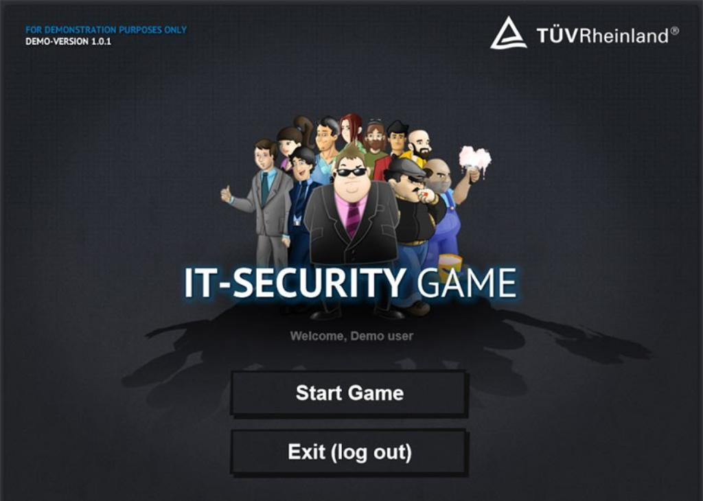 "E-Learning Beispiel ""IT-Security Game"""
