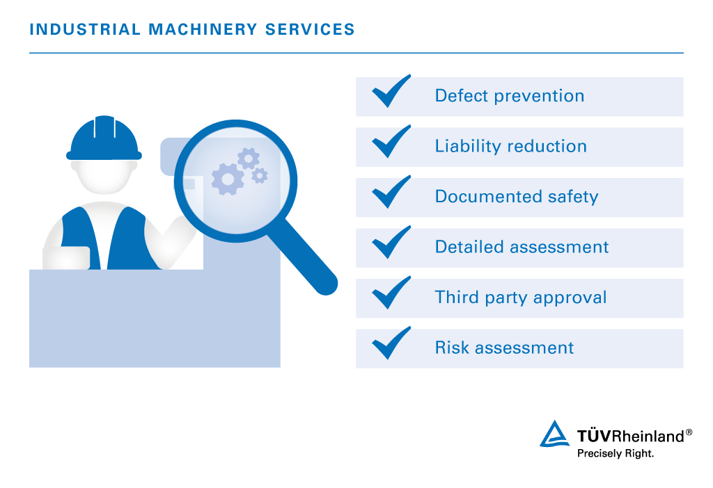 Industrial Machinery Assessment and Inspection | MY | TÜV Rheinland