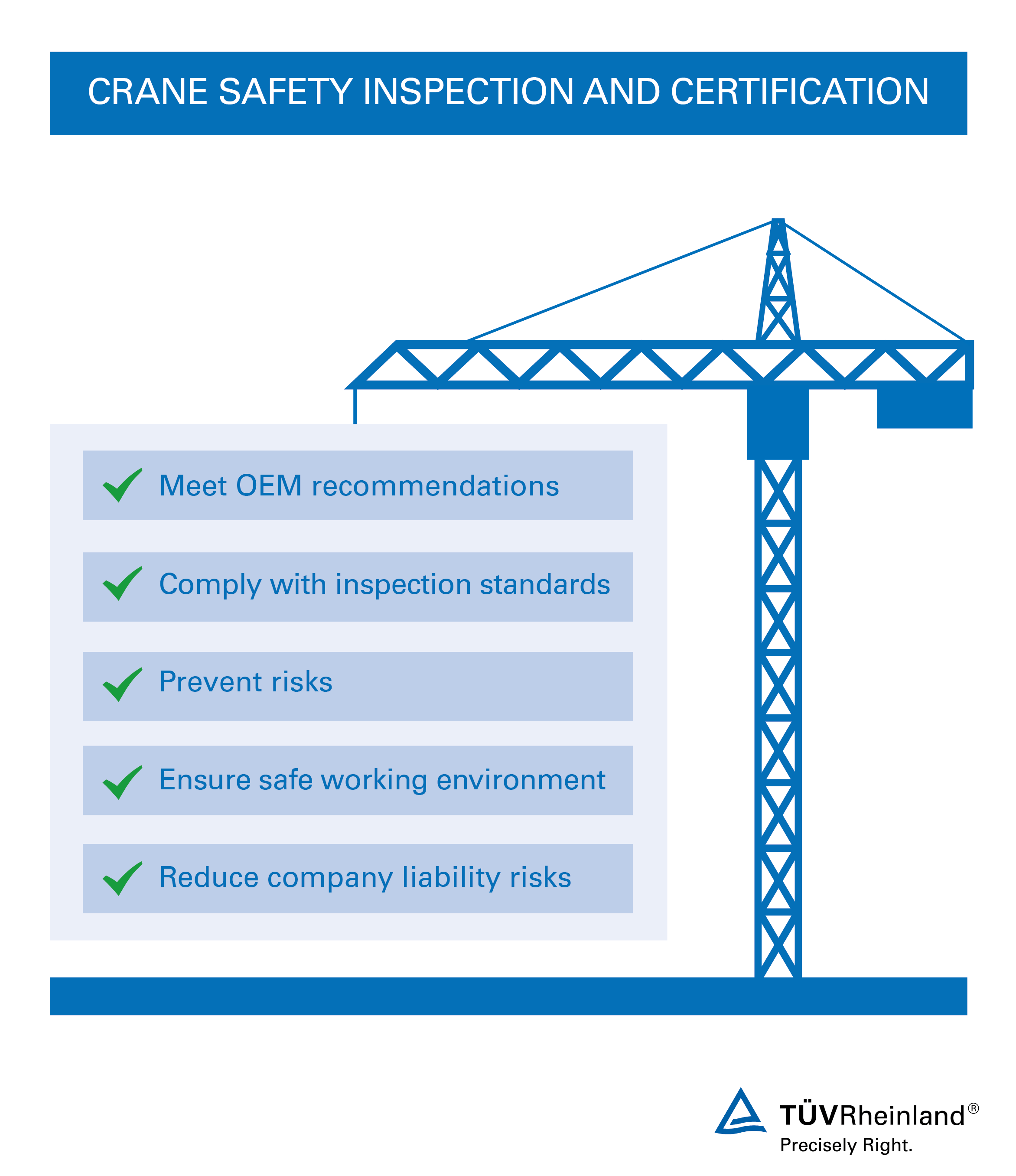 Aerial crane inspection ph tv rheinland from personal safety to quality and risk reduction with our crane inspection services 1betcityfo Images