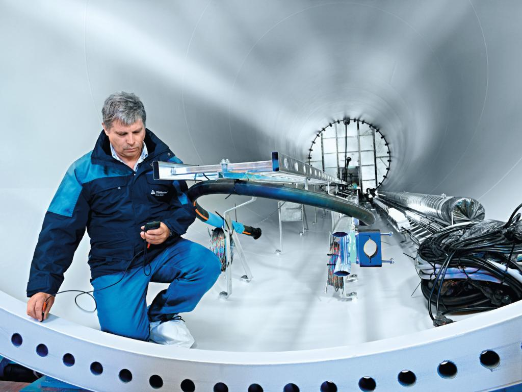 Phased array inspection | TÜV Rheinland