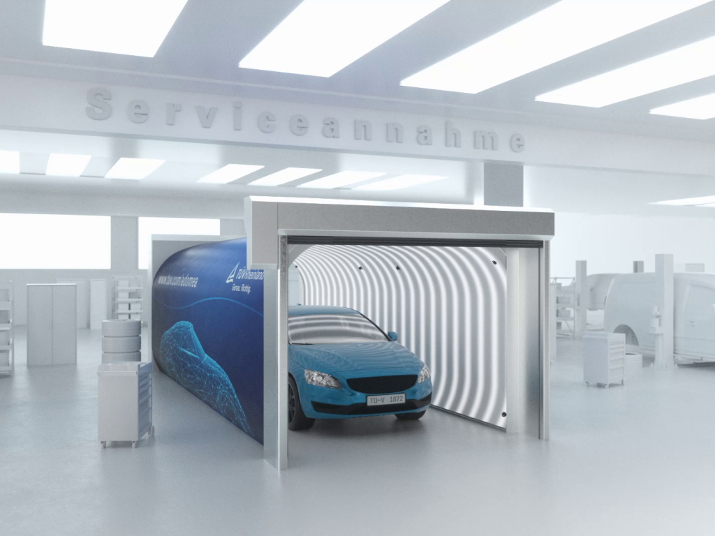 Automated vehicle condition reporting for car dealerships | TÜV Rheinland