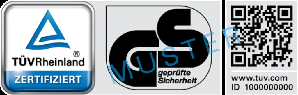 GS-Zeichen | DE | TÜV Rheinland