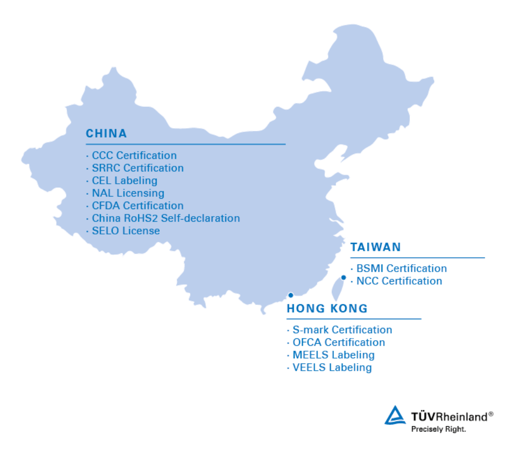 Ccc Nal Cel Approvals For Greater China Wo Tv Rheinland