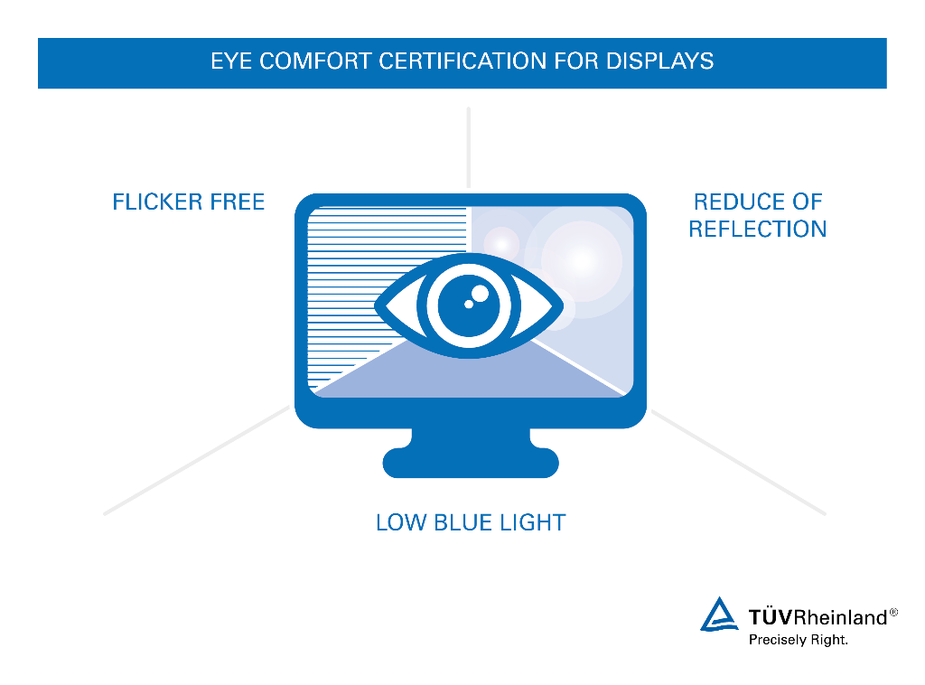 Superb Display Certification For Low Blue Light, Flicker Free Quality And  Reduction Of Reflections. Amazing Ideas