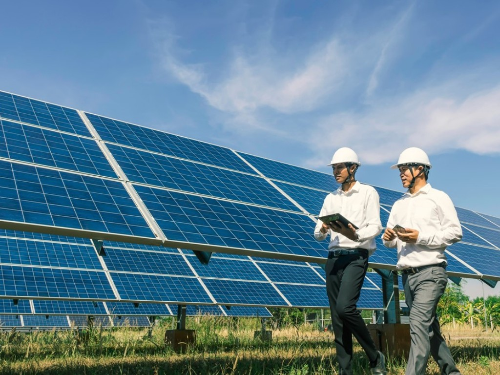 Solar plant warranty inspection – TÜV Rheinland