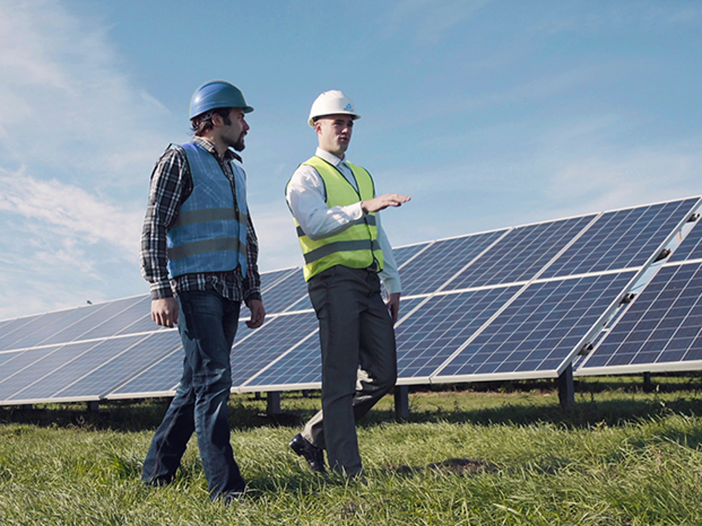 Photovoltaic Power Plant O&M Contractor Certification | TÜV Rheinland