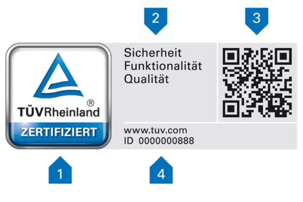 Geprüfte Servicequalität | DE | TÜV Rheinland