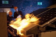 TÜV Rheinland Fire—protection tests on solar modules