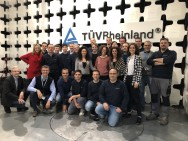 The medical team of  TÜV Rheinland Italia